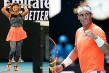 Naomi Osaka và Rafael Nadal đoạt giải 'Oscar thể thao'