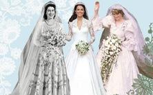 Video những chiếc váy cưới huyền thoại của hoàng gia châu Âu qua các thời đại