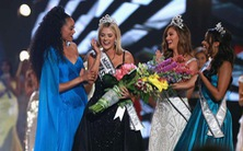 Video phần thi ứng xử xuất sắc của cô gái 1m65 đăng quang hoa hậu Mỹ