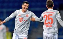 Video: Lewandowski, Muller cùng lập cú đúp giúp Bayern đại thắng