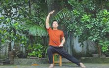 Biên đạo múa Vũ Ngọc Khải 'hiến kế' các bài tập nâng cao sức đề kháng