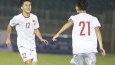 Video sao trẻ Hoàng Anh Gia Lai sút xa ghi bàn mở tỉ số cho U19 Việt Nam