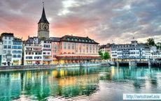 Du lịch Thụy Sĩ, Đức, Đan Mạch, Thụy Điển