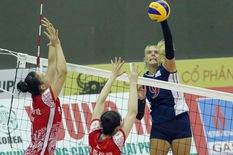 VTV Bình Điền Long An gặp đội bóng Mỹ ở bán kết