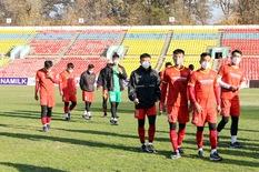 U23 Việt Nam tham quan sân thi đấu ở vòng loại U23 châu Á 2022
