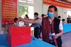 Gần 5.000 cử tri vùng biên giới Quảng Nam hoàn thành bầu cử sớm