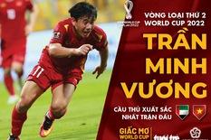 Minh Vương xuất sắc nhất trận UAE - Việt Nam