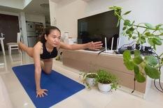 Cuộc thi 'Lan tỏa năng lượng tích cực 2021': Tập luyện để có cơ thể khỏe mạnh, tinh thần tích cực