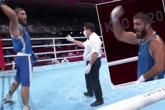 Bị xử thua, võ sĩ Pháp đập phá camera và ngồi lì cả tiếng trên sàn đấu