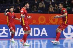 Thua á quân thế giới 1 bàn, futsal Việt Nam dừng bước ở World Cup 2021