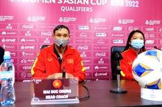HLV Mai Đức Chung: 'Đội tuyển nữ Việt Nam tầm vóc nhỏ bé nhưng ý chí rất lớn'