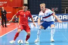 Thi đấu kiên cường trước Nga, đội tuyển futsal Việt Nam được thưởng 500 triệu đồng