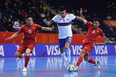 Á quân thế giới tự nhận đã 'run' trước tuyển futsal Việt Nam
