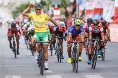 40 tay đua không về đích chặng đua vòng quanh Thành phố Cần Thơ