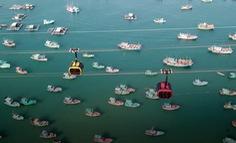Du khách đi cáp treo Hòn Thơm ngắm Phú Quốc tuyệt đẹp