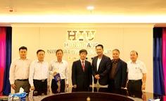 Đại học HIU quốc tế hoá mạnh mẽ
