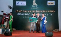 Mở bán thành công 100% sản phẩm dự án Bảo Lộc Golden City