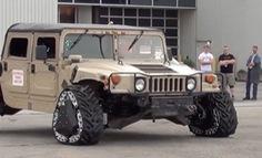 Bộ Quốc phòng Mỹ giới thiệu bánh xe ô tô kiểu mới