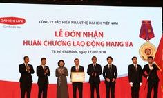 BHNT Dai-ichi tặng 1 tỉ đồng cho Quỹ Bảo trợ trẻ em Việt Nam