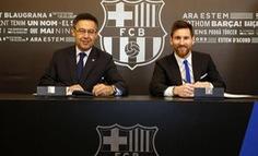Messi kiếm được 107 triệu đồng mỗi giờ tại Barca