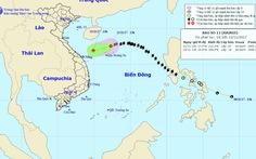 Bão số 13 suy yếu thành áp thấp nhiệt đới trên Biển Đông