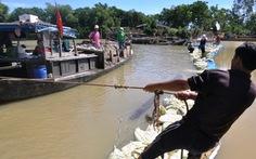 Tháo đập ngăn mặn sông Vĩnh Điện, dân Hội An mất nước sinh hoạt