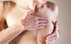 Nam giới ung thư vú, bị nặng mới biết