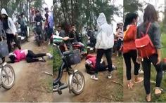 Cảnh cáo, hạ hạnh kiểm nhóm nữ sinh đánh hội đồng bạn