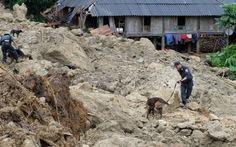 Đã có 72 người chết do mưa lũ, sạt lở đất