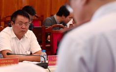 Cảnh cáo, cho ông Phạm Sỹ Quý thôi chức giám đốc Sở TN-MT Yên Bái