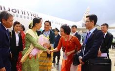 Bà Aung San Suu Kyi đến Đà Nẵng