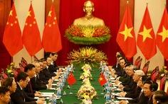 Việt - Trung ký kết 12 văn kiện hợp tác