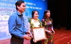 Cô sinh viên và đề tài chống ô nhiễm nguồn nước