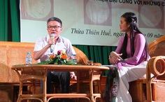 GS Ngô Bảo Châu: 'Đừng băn khoăn về vật chất khi chọn nghề giáo'