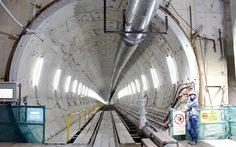 Robot TBM đã khoan được hơn 430m đường hầm metro