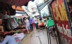 Đề nghị chấm dứt hoạt động các chợ tạm khu trung tâm TP.HCM