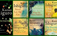 Điểm danh các tác phẩm của nhà văn vừa giành Nobel văn chương 2017