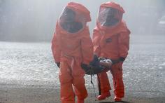 Huy động cảnh sát và quân đội xử lý sự cố rò rỉ hóa chất