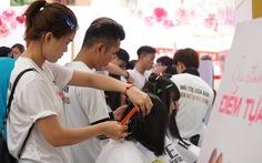 Sẵn sàng cắt tóc ủng hộ bệnh nhân ung thư vú