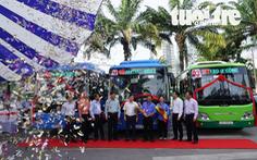 Tuyến xe buýt mẫu tăng gần 1.000 lượt hành khách