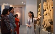 Phu nhân thủ tướng Thái Lan thăm bảo tàng Điêu khắc Chăm Đà Nẵng