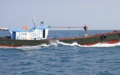 Nhiều tàu cá Trung Quốc tháo chạy khi bị phát hiện xâm phạm biển Việt Nam