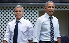 George Clooney khoe chuyện nhắn tin 'bậy' với cựu tổng thống Obama