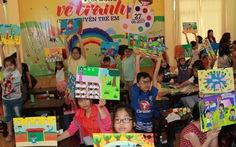 Thi vẽ tranh về quyền trẻ em