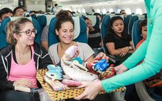 Vietnam Airlines đón trung thu với 'Chuyến bay yêu thương'
