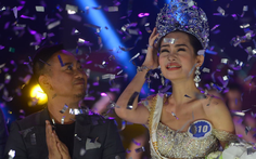Mũi Hoa hậu Đại dương 2017 không còn vật thể lạ
