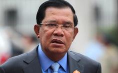 Thủ tướng Hun Sen đòi giải tán đảng đối lập