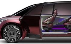 Xe chạy pin nhiên liệu 'độc lạ' dài gần 5m của Toyota