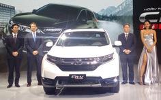 Honda CR-V đời mới ra mắt khách hàng Việt