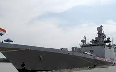 2 tàu hải quân Ấn Độ cập cảng Hải Phòng